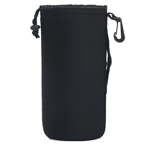 Barrel DSLR Camera Lens Bag Large (Black)