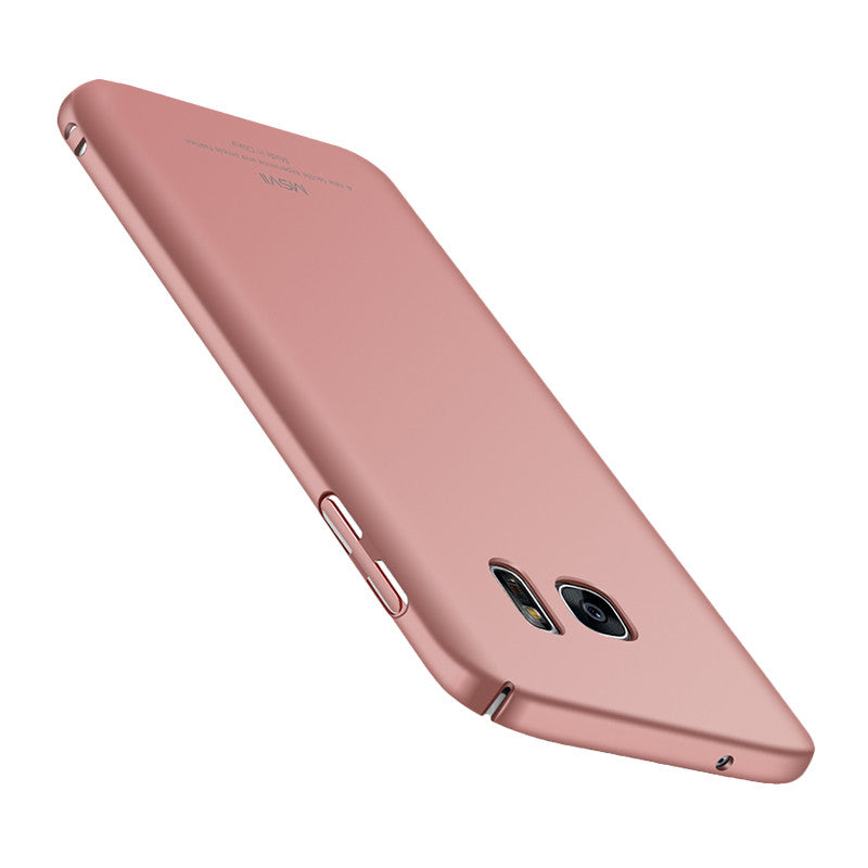 Classic Face Shield Phone Shell for Samsung S7 (Rose Gold)