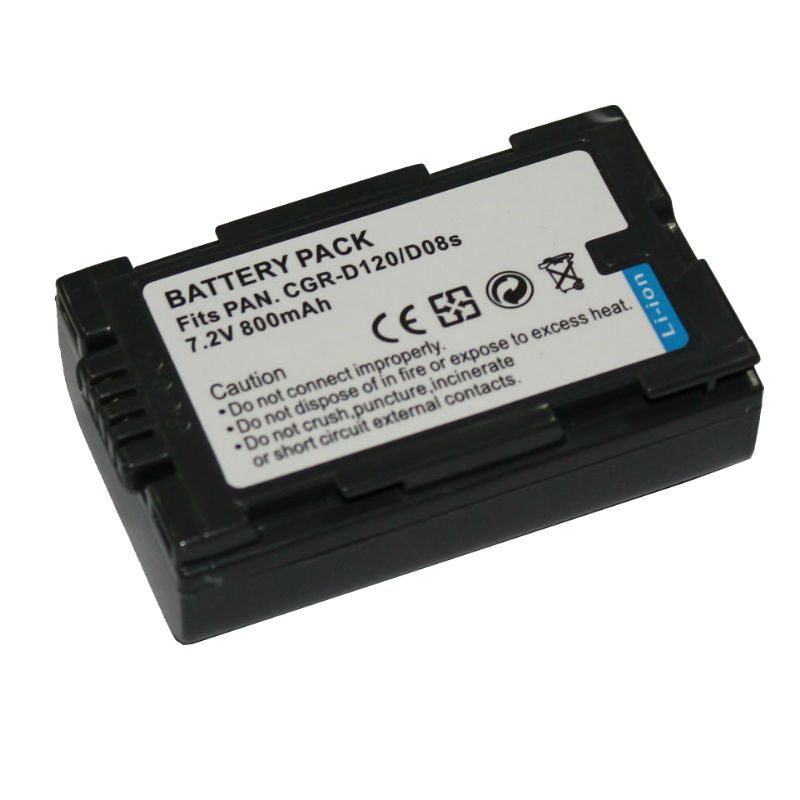 Generic D120/D08S Battery for Panasonic
