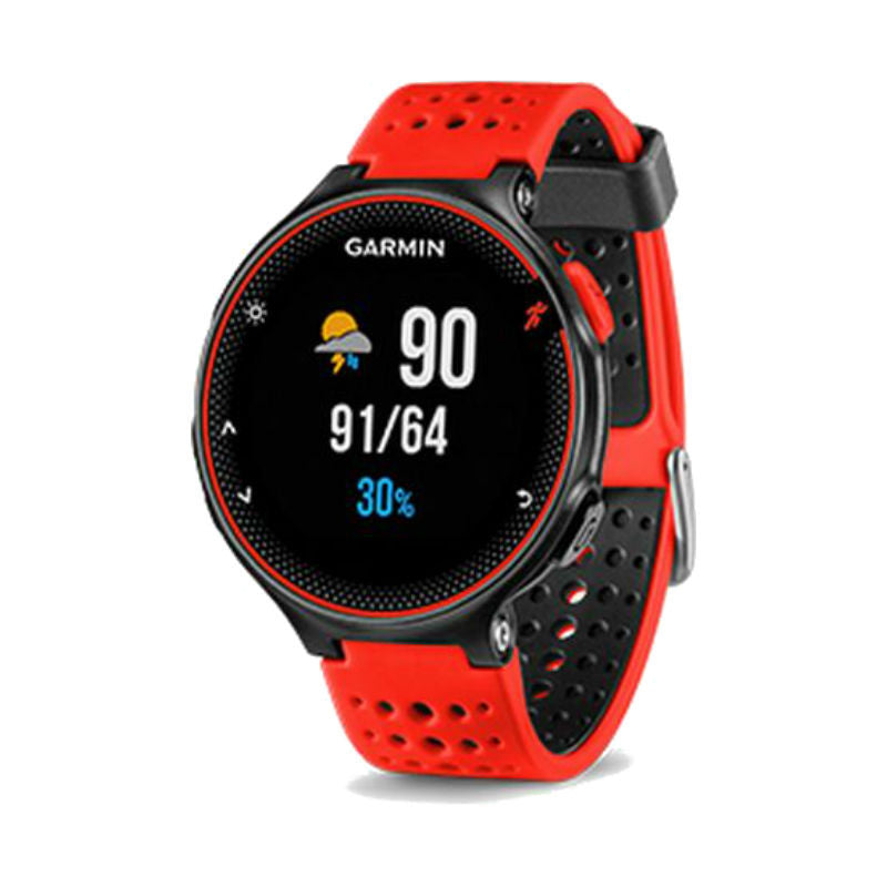 Garmin Forerunner 235 with HRM 010-03717-6E GPS Watch (Lava Red)