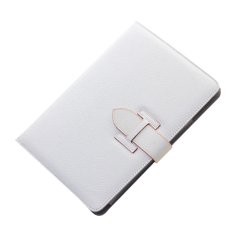Handheld Drop Resistance Protective Sleeve with Holster Belt for Apple iPad Air 2 (White)
