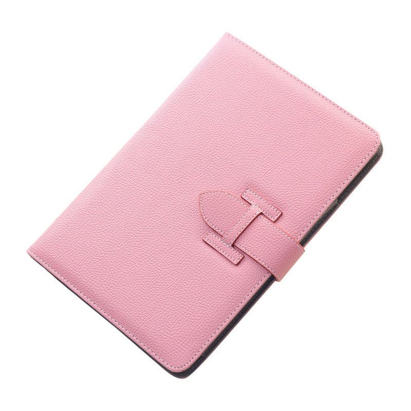 Handheld Drop Resistance Protective Sleeve with Holster Belt for Apple iPad Air 2 (Pink)