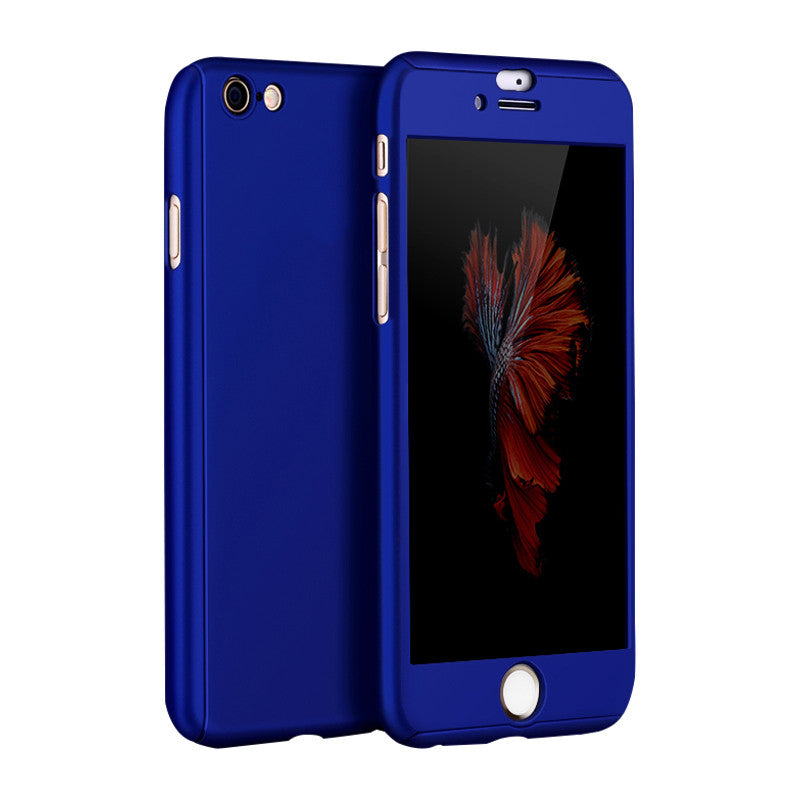 Hard Shell Matte Case 5.5 inch for iPhone 6 Plus/6S Plus (Royal Blue)