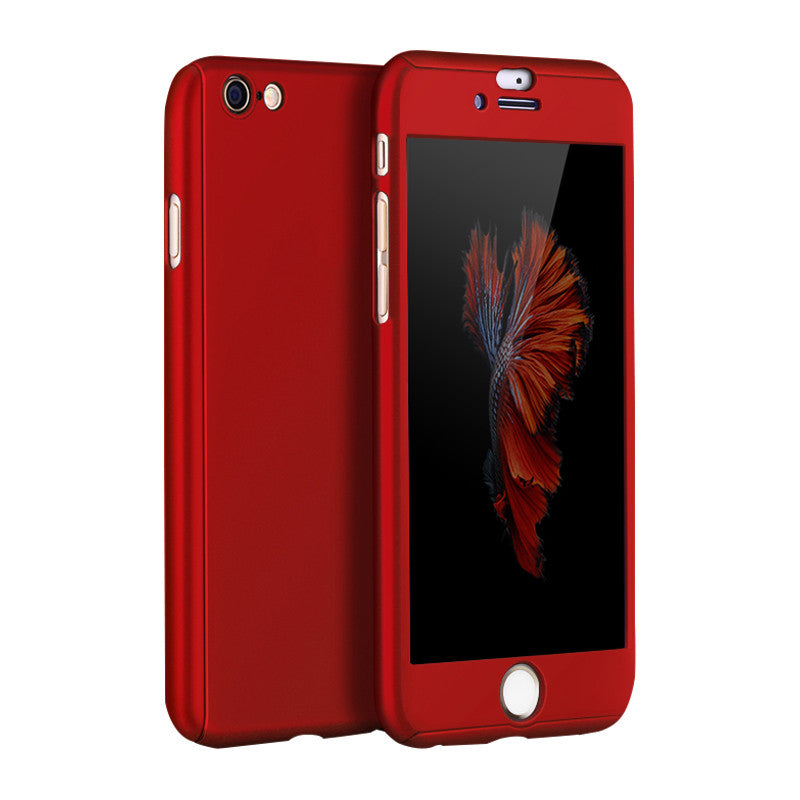 Hard Shell Matte Case 5.5 inch for iPhone 6 Plus/6S Plus (Red Wine)