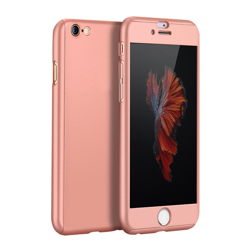 Hard Shell Matte Case 5.5 inch for iPhone 6 Plus/6S Plus (Rose Gold)