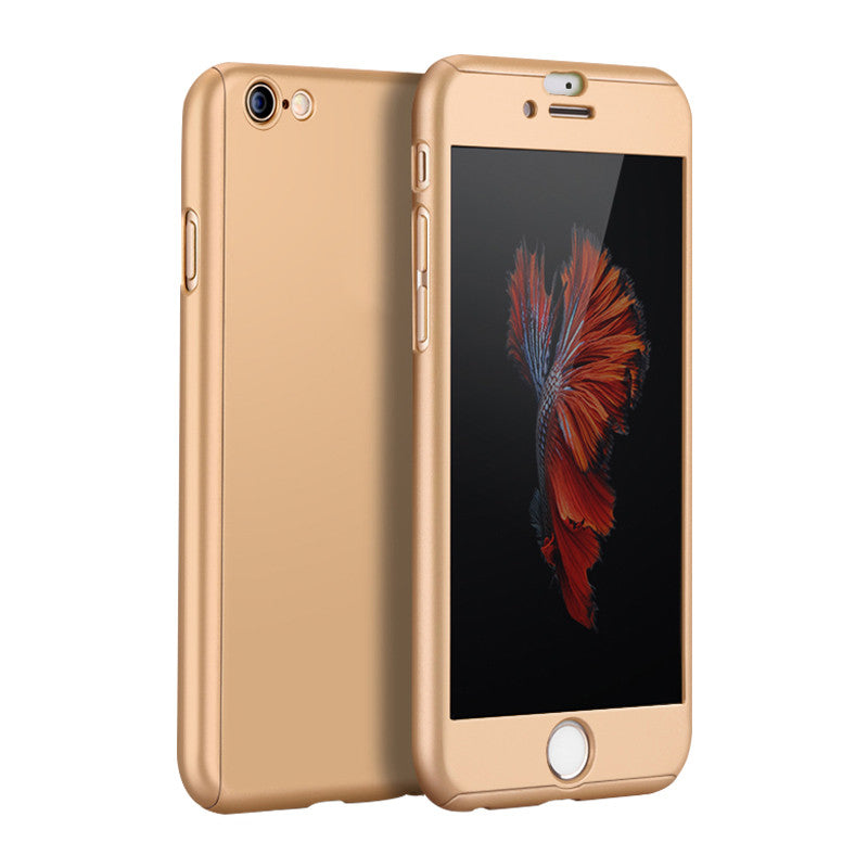 Hard Shell Matte Case 5.5 inch for iPhone 6 Plus/6S Plus (Gold)
