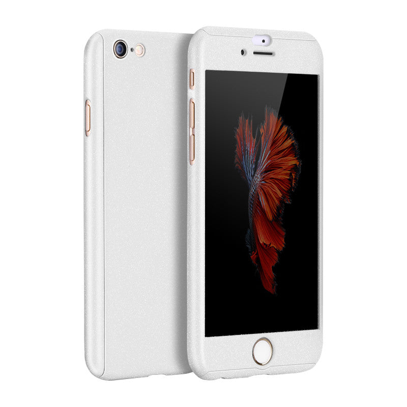 Hard Shell Matte Case 5.5 inch for iPhone 6 Plus/6S Plus (White)