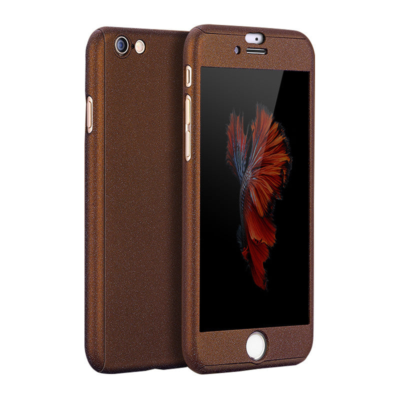 Hard Shell Matte Case 5.5 inch for iPhone 6 Plus/6S Plus (Coffee Brown)