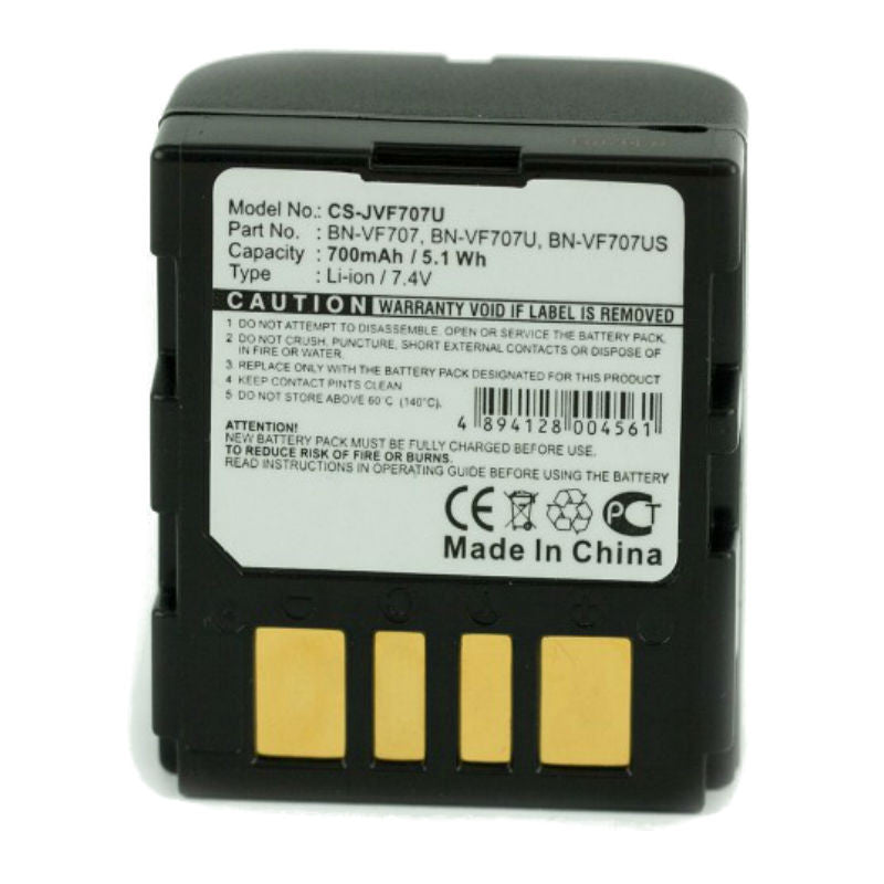Generic BN-VF707U Battery for JVC