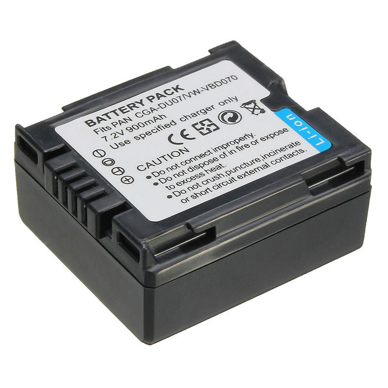Generic VBD070/CGA-DU07 Battery for Panasonic