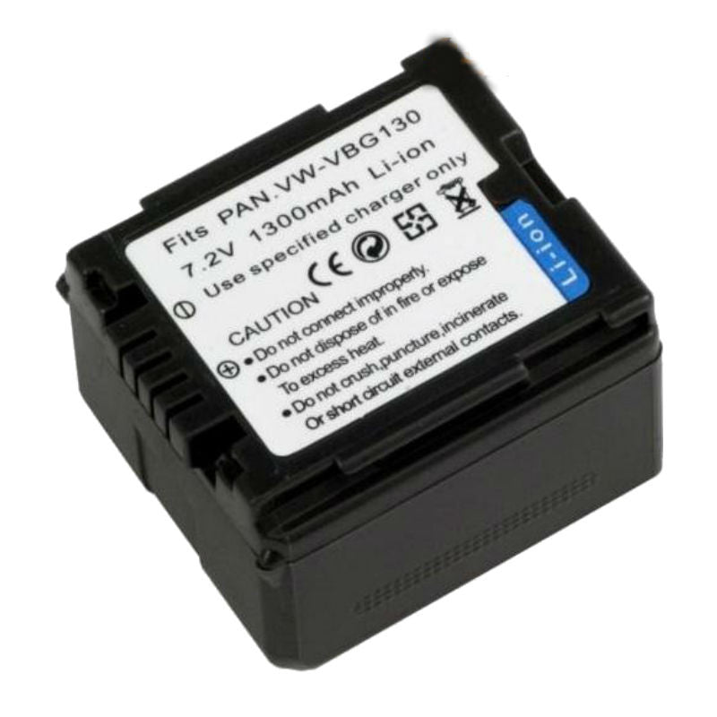 Generic VBG130 Decoded Battery for Panasonic