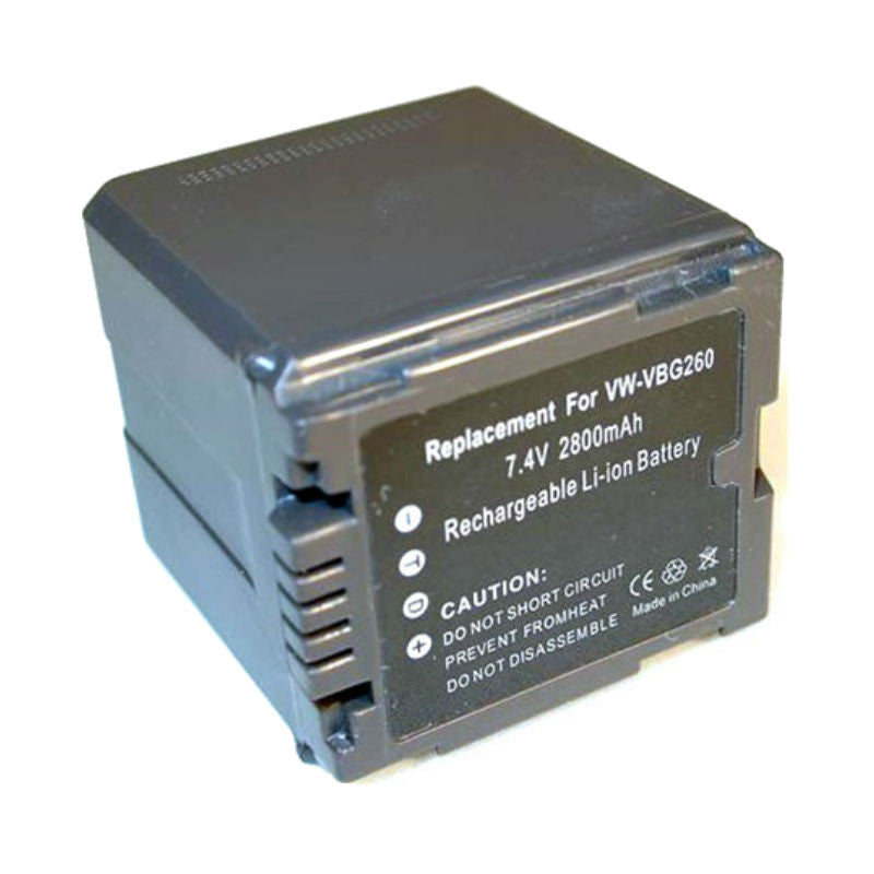 Generic VBG260 Decoded Battery for Panasonic
