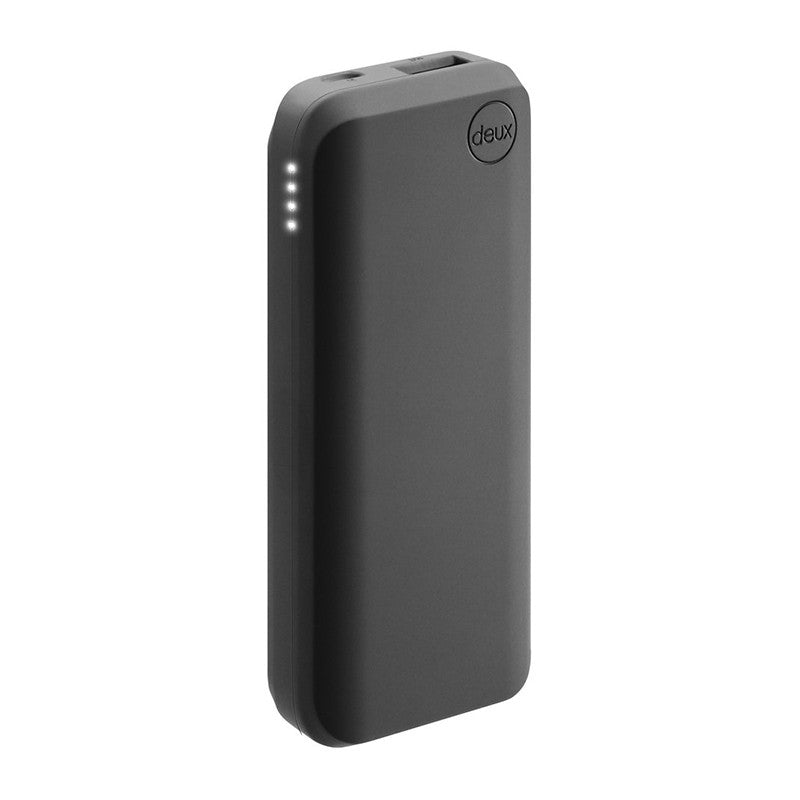 Amuse Deux 6000 mAh Polymer Power Bank (Matte Black)