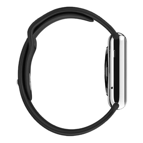 Apple Watch 38mm Stainless Steel Case Sport Band MLCK2 (Black)