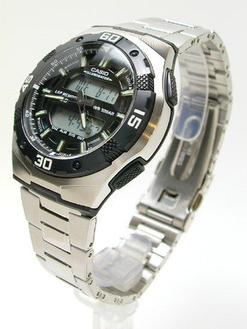 Casio Standard Analog-Digital AQ-164WD-1AVDF Watch (New with Tags)