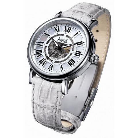 Arbutus Lady Love Mechanical AR306SWW Watch (New with Tags)
