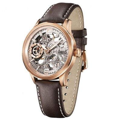 Arbutus Skeleton Automatic AR501RWF Watch (New with Tags)