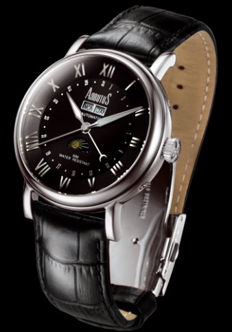 Arbutus New York Classic Automatic AR502SBB Watch (New with Tags)