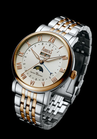 Arbutus New York Classic Automatic AR502TRWS Watch (New with Tags)