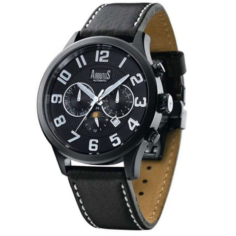 Arbutus Wall Street Automatic AR505BBB Watch (New with Tags)