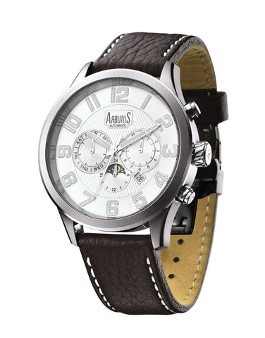 Arbutus Wall Street Automatic AR505SWF Watch (New with Tags)