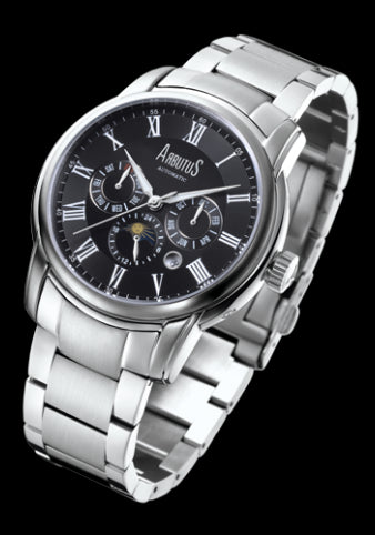 Arbutus New York Park Ave Automatic AR506SBS Watch (New with Tags)