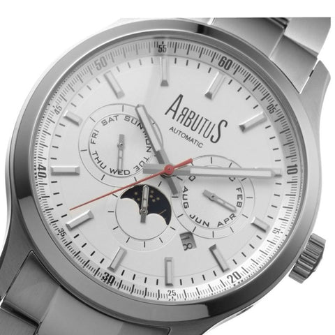 Arbutus Love Peter Sport Automatic Mechanical AR509SWS Watch (New with Tags)