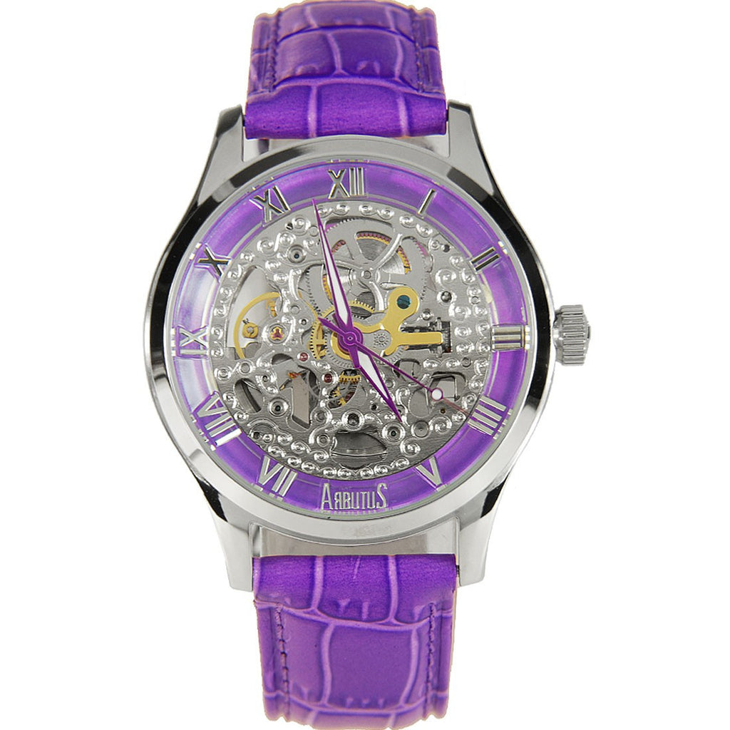 Arbutus New York Skeleton AR605SVV Watch (New with Tags)