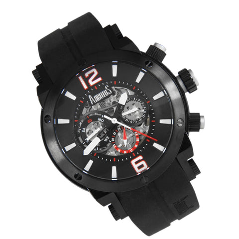 Arbutus Wall Street Automatic AR606BRB Watch (New with Tags)