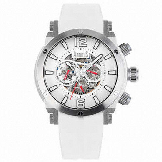 Arbutus Wall Street Automatic AR606SWW Watch (New with Tags)