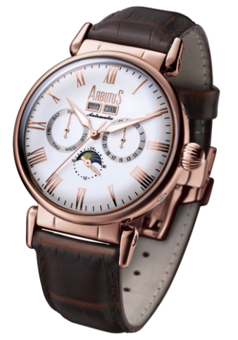 Arbutus Dream Moon AR610RWF Watch (New with Tags)
