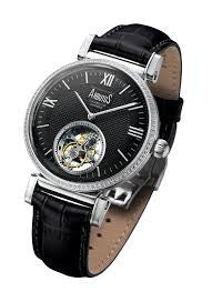 Arbutus Tourbillon AR-TB-07-SBB Watch (New with Tags)