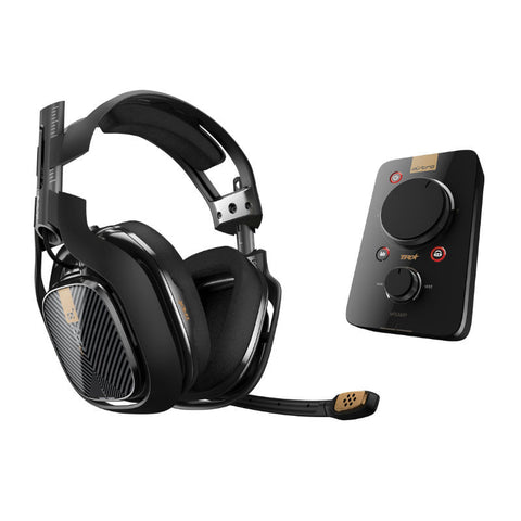 Astro A40 TR Gaming Headset and MixAmp Pro for PS4/PS3/PC/Mac (Black)