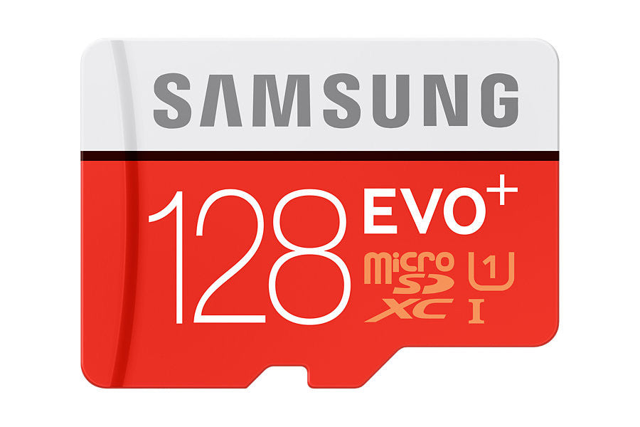 Samsung T-Flash Evo Plus 128GB MicroSDHC Class 10 (MB-MC128DA/EU) Memory Card with Adapter