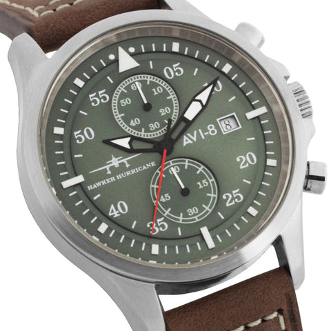 AVI-8 Hawker Hurricane  AV-4013-03 Watch (New with Tags)