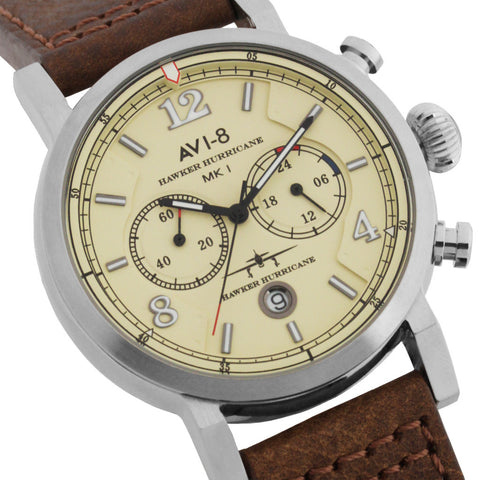 AVI-8 Hawker Hurricane  AV-4015-03 Watch (New with Tags)