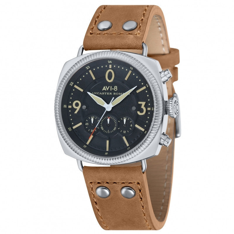 AVI-8 Lancaster Bomber  AV-4022-02 Watch (New with Tags)