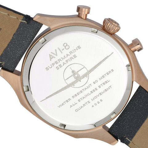 AVI-8 Supermarine Seafire AV-4025-04 Watch (New with Tags)