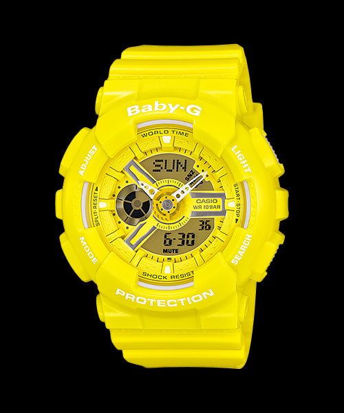 Casio Baby-G Standard Analog-Digital BA-110BC-9ADR Watch (New With Tags)