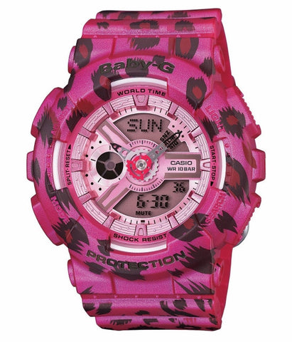 Casio Baby-G Standard Analog-Digital BA-110LP-4ADR Watch (New with Tags)