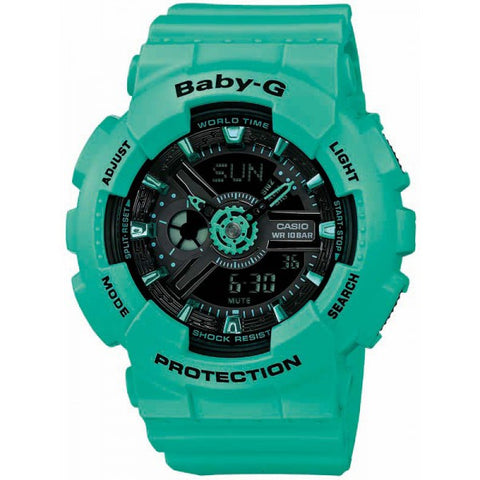 Casio Baby-G Analog-Digital BA-111-3AER Watch (New with Tags)