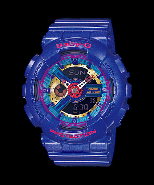 Casio Baby-G Standard Analog-Digital BA-112-2ADR Watch (New With Tags)