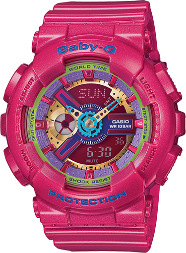 Casio Baby-G Standard Analog-Digital BA-112-4ADR Watch (New with Tags)