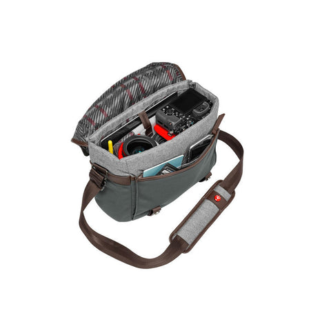 Manfrotto MB LF-WN-MS Windsor Camera Messenger Bag for CSC (Small)