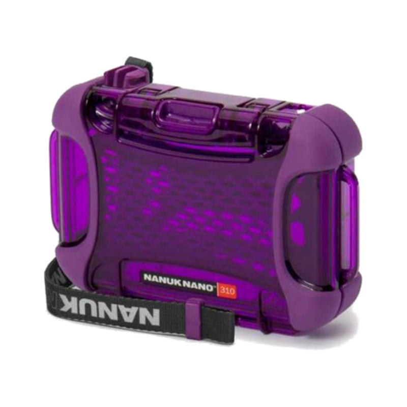 Nanuk Nano 310-0013 Protective Hard Case (Purple)
