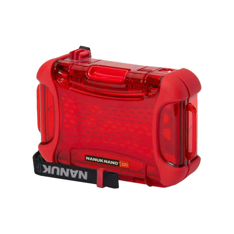 Nanuk Nano 320-0009 Protective Hard Case (Red)