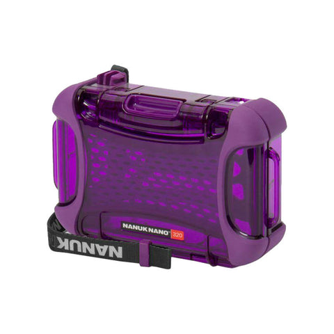 Nanuk Nano 320-0013 Protective Hard Case (Purple)