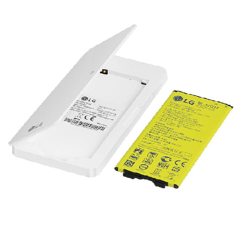 LG BCK-5100 Battery Charging Kit for LG G5 (White)