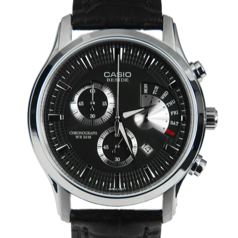 Casio Beside Chronograph BEM-501L-1A Watch (New with Tags)