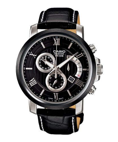Casio Beside Chronograph BEM-507BL-1A Watch (New with Tags)